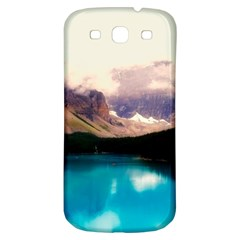 Austria Mountains Lake Water Samsung Galaxy S3 S Iii Classic Hardshell Back Case