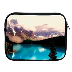 Austria Mountains Lake Water Apple Ipad 2/3/4 Zipper Cases