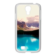Austria Mountains Lake Water Samsung Galaxy S4 I9500/ I9505 Case (white)