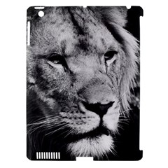 Africa Lion Male Closeup Macro Apple Ipad 3/4 Hardshell Case (compatible With Smart Cover)