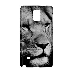 Africa Lion Male Closeup Macro Samsung Galaxy Note 4 Hardshell Case