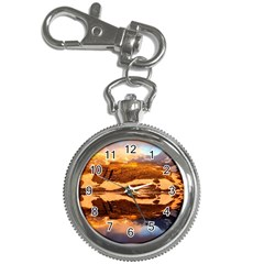 France Snow Winter Sunrise Fog Key Chain Watches by BangZart