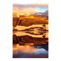 France Snow Winter Sunrise Fog Shower Curtain 48  X 72  (small)