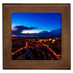 The Hague Netherlands City Urban Framed Tiles by BangZart