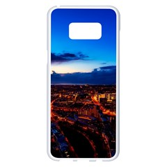 The Hague Netherlands City Urban Samsung Galaxy S8 Plus White Seamless Case