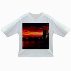 New York City Urban Skyline Harbor Infant/toddler T Shirts