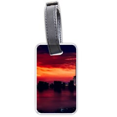 New York City Urban Skyline Harbor Luggage Tags (two Sides)