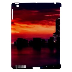 New York City Urban Skyline Harbor Apple Ipad 3/4 Hardshell Case (compatible With Smart Cover)