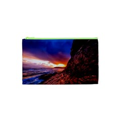 South Africa Sea Ocean Hdr Sky Cosmetic Bag (xs) by BangZart