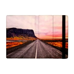 Iceland Sky Clouds Sunset Apple Ipad Mini Flip Case