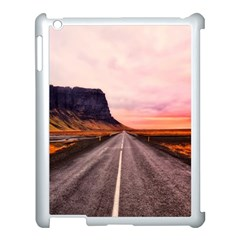 Iceland Sky Clouds Sunset Apple Ipad 3/4 Case (white)