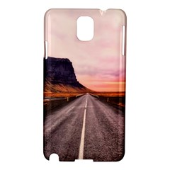 Iceland Sky Clouds Sunset Samsung Galaxy Note 3 N9005 Hardshell Case by BangZart
