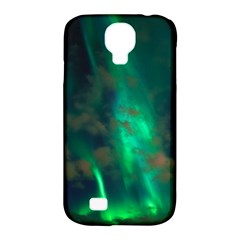 Northern Lights Plasma Sky Samsung Galaxy S4 Classic Hardshell Case (pc+silicone)