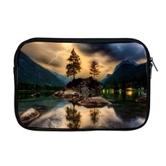 Sunset Dusk Sky Clouds Lightning Apple Macbook Pro 17  Zipper Case