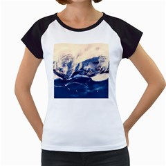 Antarctica Mountains Sunrise Snow Women s Cap Sleeve T by BangZart