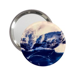 Antarctica Mountains Sunrise Snow 2.25  Handbag Mirrors