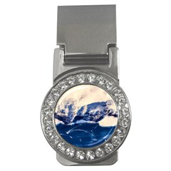 Antarctica Mountains Sunrise Snow Money Clips (CZ)