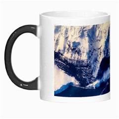 Antarctica Mountains Sunrise Snow Morph Mugs