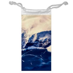 Antarctica Mountains Sunrise Snow Jewelry Bag