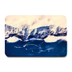 Antarctica Mountains Sunrise Snow Plate Mats
