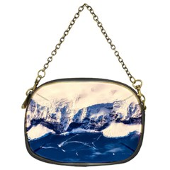 Antarctica Mountains Sunrise Snow Chain Purses (One Side)