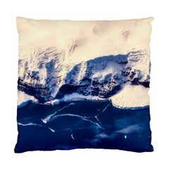 Antarctica Mountains Sunrise Snow Standard Cushion Case (One Side)