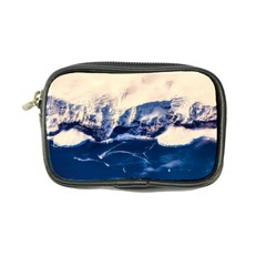 Antarctica Mountains Sunrise Snow Coin Purse