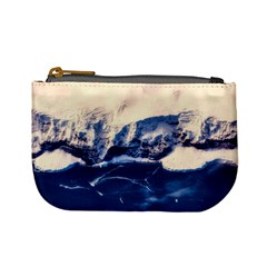 Antarctica Mountains Sunrise Snow Mini Coin Purses