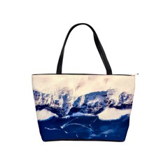 Antarctica Mountains Sunrise Snow Shoulder Handbags