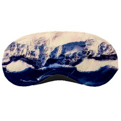 Antarctica Mountains Sunrise Snow Sleeping Masks