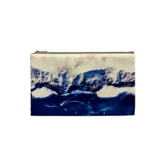 Antarctica Mountains Sunrise Snow Cosmetic Bag (Small)