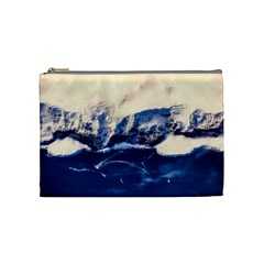 Antarctica Mountains Sunrise Snow Cosmetic Bag (Medium)