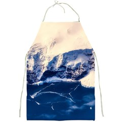 Antarctica Mountains Sunrise Snow Full Print Aprons