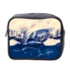 Antarctica Mountains Sunrise Snow Mini Toiletries Bag 2-Side