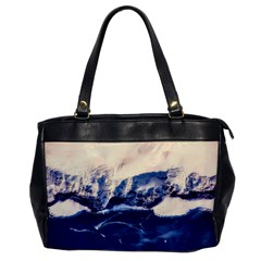 Antarctica Mountains Sunrise Snow Office Handbags