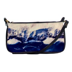 Antarctica Mountains Sunrise Snow Shoulder Clutch Bags