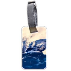 Antarctica Mountains Sunrise Snow Luggage Tags (One Side)