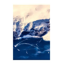 Antarctica Mountains Sunrise Snow Shower Curtain 48  x 72  (Small)