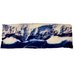 Antarctica Mountains Sunrise Snow Body Pillow Case (Dakimakura)