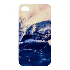 Antarctica Mountains Sunrise Snow Apple iPhone 4/4S Premium Hardshell Case