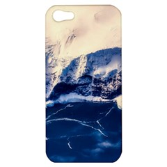 Antarctica Mountains Sunrise Snow Apple Iphone 5 Hardshell Case by BangZart