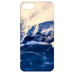 Antarctica Mountains Sunrise Snow Apple Iphone 5 Classic Hardshell Case by BangZart