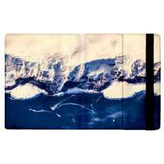Antarctica Mountains Sunrise Snow Apple iPad 2 Flip Case