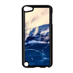 Antarctica Mountains Sunrise Snow Apple iPod Touch 5 Case (Black)