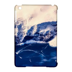 Antarctica Mountains Sunrise Snow Apple iPad Mini Hardshell Case (Compatible with Smart Cover)