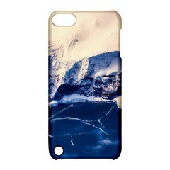 Antarctica Mountains Sunrise Snow Apple iPod Touch 5 Hardshell Case with Stand