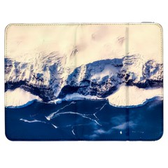 Antarctica Mountains Sunrise Snow Samsung Galaxy Tab 7  P1000 Flip Case