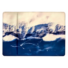 Antarctica Mountains Sunrise Snow Samsung Galaxy Tab 10.1  P7500 Flip Case