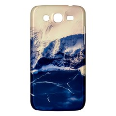 Antarctica Mountains Sunrise Snow Samsung Galaxy Mega 5.8 I9152 Hardshell Case