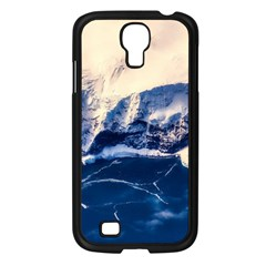 Antarctica Mountains Sunrise Snow Samsung Galaxy S4 I9500/ I9505 Case (Black)